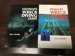 PRIMARY ULTIMATE WRECK-DIVING GUIDE By Gary Gentile 2 books