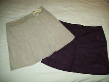 Bundle Ladies Mc Gregor New York Pleated Short Skirts Size 46
