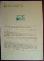 1958  ITALIA  Bollettini Postale  Annata Completa