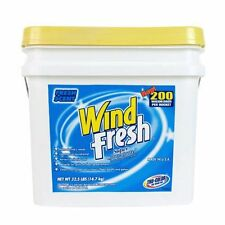 WINDFRESH LAUNDRY SOAP Approx 200 Load of Laundry Absorbs Oil Spills  32.5lbs.