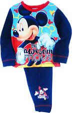 Mickey Mouse Baby Pyjama Schlafanzug SET 74 80 86 92 98 NEU Shirt & Hose Disney