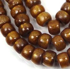 "8x5mm Natural Golden Sponge CORAL Rondelle Beads 16"""