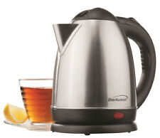 BRAND NEW Brentwood KT-1780 1.5L Stainless Steel Cordless Electric Kettle