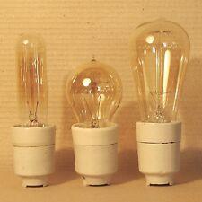 Retro Vintage White Porcelain Ceramic E27 Bulb Socket Holder