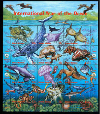 Ocean,Turtle,Octopus,Diver,Seahorse,Jelly Fish,Dolphin,Flying Fish,UN,First Day