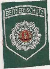 DDR explotación verde protección camisa por el policía insignia de parche VoPo Patch 80er