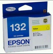 Genuine Epson 132 Yellow Ink Cartridge--(N11/NX125)