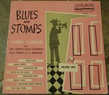 """10 Inch Album By Tommy Ladnier, """"Blues And Stomps, Vol. 1"""" on London"""