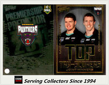 2011 NRL Strike Top Tryscorer TS11 Coote / Simmons (Panthers) + Predictor Card