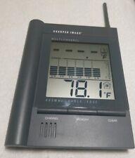 Sharper Image Wireless Multi-Channel Remote Thermometer. No remote included.