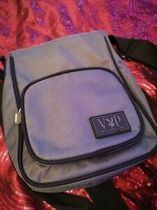 Authentic Playboy Collection Mini Messenger Bag - Grey & Black - VIP Edition.