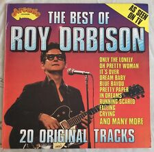 "ROY ORBISON,THE BEST OF,VINTAGE,12"" LP33,EXCELLENT CONDITION .20 GREAT HITS."