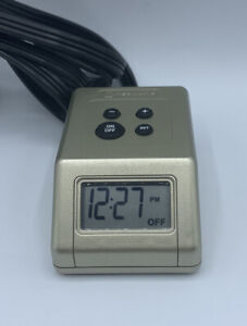 Intermatic TB121 Digital Tabletop Lamp and Appliance Timer