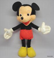 Schuco Mickey Mouse WDP Doll Mohair Plush Bigo Bello 1960 Disney 28cm 11in Vtg
