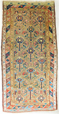 Antique Caucasian rug. 4'x 7'