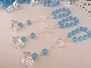 15 Recuerdos De Bautizo / Recuerdos De Comunion / Mini Rosary/ Baptism Favors