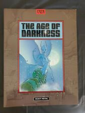 The Age Of Darkness by Caza 1998 Heavy Metal  VF/NM