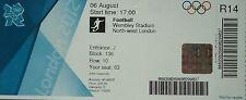 Eintrittskarte Olympia 6.8.2012 Women's Fussball Frankreich - Japan R14