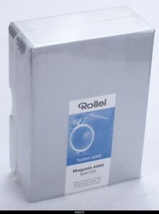 Rollei Magazine 6006 220 6x6 Film back for 6000 6008 rolleiflex NEW