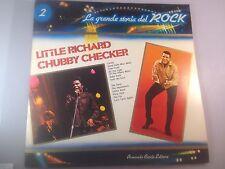 Little Richard/Chubby Checker LP La Grande Storia del Rock Italian Import, Rare