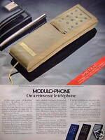 PUBLICITÉ DE PRESSE 1981 MODULO PHONE ON A RÉINVENTÉ LE TÉLÉPHONE