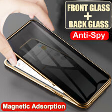 360 Privacy Anti-Spy Full Glass Magnetic Case Cover for Samsung Galaxy S8 S9 S10