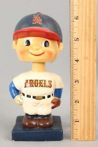 Vintage Original 1960's Los Angeles Angels Baseball Bobblehead Nodder Player NR