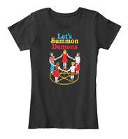 Lets Summon Demons Creepy Incantation De Women's Premium Tee T-Shirt