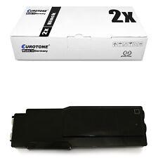2x ECO Patrone BLACK XXL für Dell C-3760-n C-3760-dn C-3765-dnf