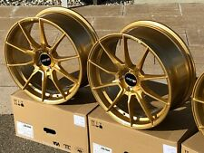Motec Ultralight MCR2 gold 8,5x19 5-112 ET43 Audi TT RS Q2 Q3 8U VW Golf R Cupra