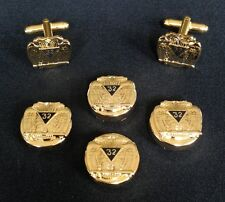 32nd Degree Eagle Button Cover & Cuff Link Set (32-BCL)