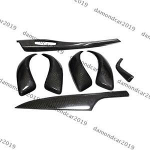 7Pcs Carbon Fiber Interior Trim for BMW 1 Series F20 F21 116i 118i 120i M135i DN