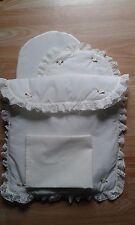 Bedding Quilt Pillow Sheet Mattress Mamas & Papas Junior X-cel Doll Pram Cream
