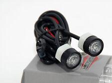 Highsider LED-Blinker Einheit MONO klares Glas schwarz eloxiert E-gepr. (203215)