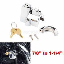 Motorcycle Bar Mount Helmet Lock For Yamaha XT 125 200 225 250 350 500 600 750