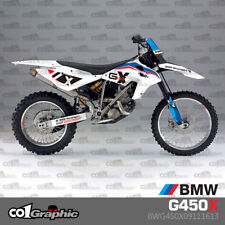 GRAPHICS DECALS STICKERS FULL KIT FOR BMW G450X 2009-2011