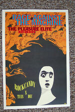 Rage Against the Machine Concert Poster 1992 Rockcandy Seattle--