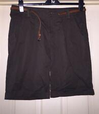 Atmosphere Size 14 Khaki Green Shorts With Belt