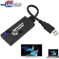 1080P USB3.0 2.0 TO HDMI VIDEO AUDIO CONVERTER HDTV AV ADAPTER PC GRAPHICS CARD