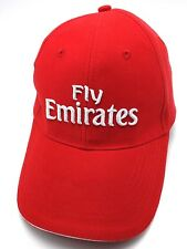 "EMIRATES AIRLINES red adjustable cap / hat - ""Fly Emirates"""