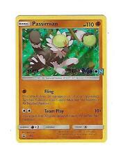 STAFF Passimian SM12 Sun & Moon PreRelease Promo Holo POKEMON Card NM