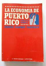 La Economia de  Puerto Rico Etapas en su desarrollo de Andres Sanchez 1976
