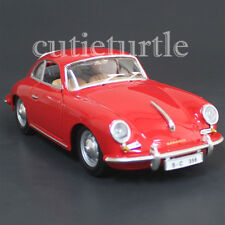 Bburago 1961 Porsche 356B Coupe 1:24 Diecast Model Car 22079 Red