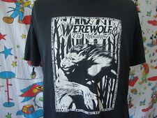 Vintage Werewolf The Apocalypse White Wolf Role Playing Horror Game T Shirt XL
