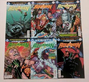AQUAMAN #9 10 11 12 13 14  DC rebirth comics 2016  MERA  BLACK MANTA   SUPERMAN