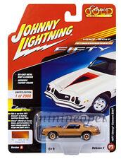 JOHNNY LIGHTNING JLCP7054 A 1977 CHEVROLET CAMARO Z28 1/64 DIECAST ORANGE POLY