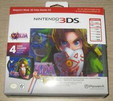 The Legend of Zelda Majora's Mask 3DS PowerA Folio Starter Kit Majoras Nintendo