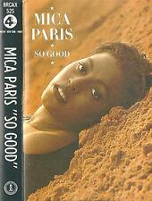 Mica Paris So Good CASSETTE ALBUM 4th Broadway BRCAX525 Disco Downtempo Garage