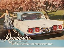 REMINISCE 2013 Desk Calendar and Appointment Book Unused