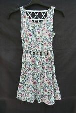 BNWT H&M Divided floral cut out styling front/back sleeveless dress Size 6